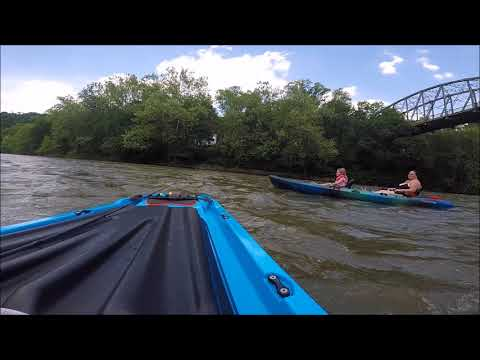 Kiski River ride (Saltsburg to Roaring Run)