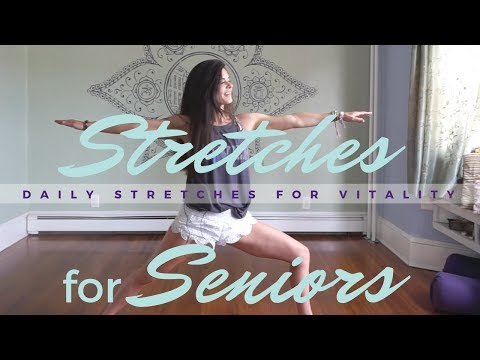 Daily Stretches for Seniors - Simple Yoga Exercises