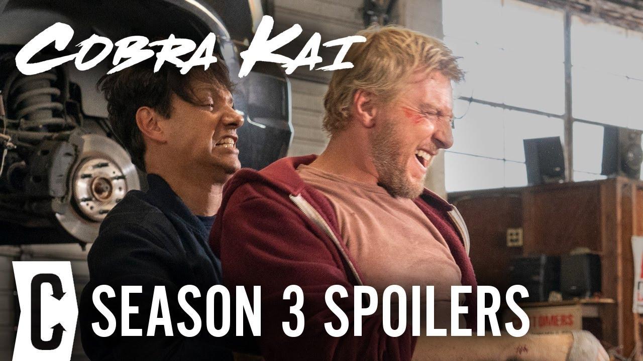 Download Cobra Kai Season 3: Ralph Macchio and William Zabka Explain How [SPOILER]'s Return Finally Happened