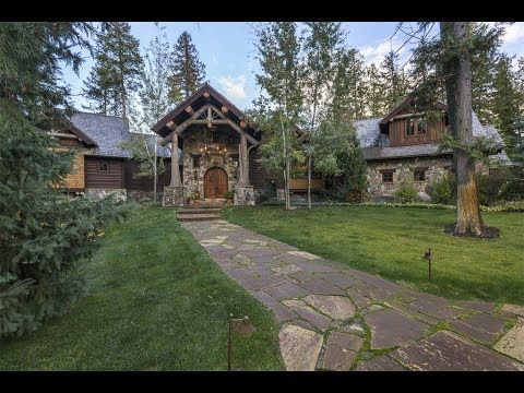 Incredibly Crafted Timber Frame Home In Bigfork, Montana - Sotheby's International Realty