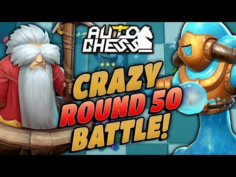 High Level 50 Round Game in the Quarter Finals!   Auto Chess Mobile   Zath Auto Chess 192
