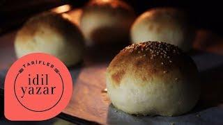 Hamburger Ekmeği Tarifi | Hamburger Ekmeği Nasıl Yapılır? | İdil Yazar ile Yemek Tarifleri