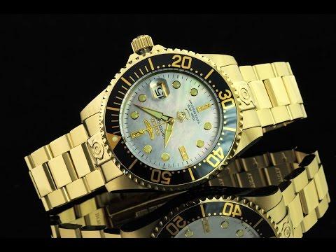 Invicta 22028 47mm Grand Diver Diamond Commemorative Edition Automatic Bracelet Watch