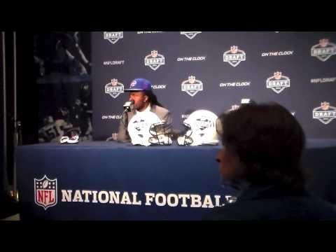 Sammy Watkins Highlights Interview, Buffalo Bills WR Interview NFL Draft