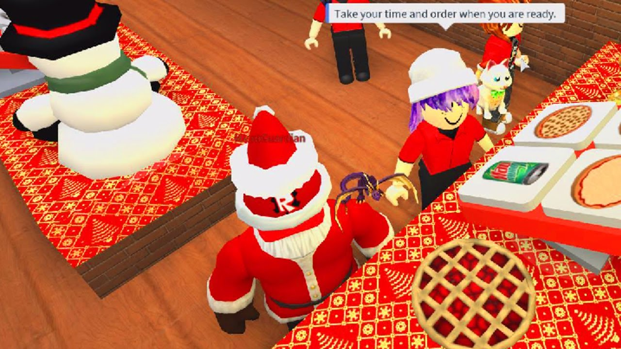 ROBLOX CHRISTMAS WORK AT A PIZZA PLACE ROLEPLAY | RADIOJH GAMES ...