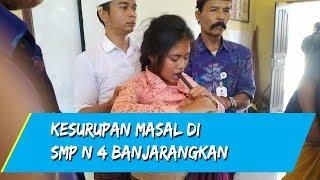 Satu Persatu Siswi Tumbang Dan Histeris, Kesurupan Masal Di SMP N 4 Banjarangkan