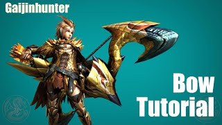 Mh4g/mh4u: Bow Tutorial