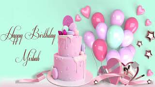 Happy Birthday Misbah Image Wishes Lovers Video Animation