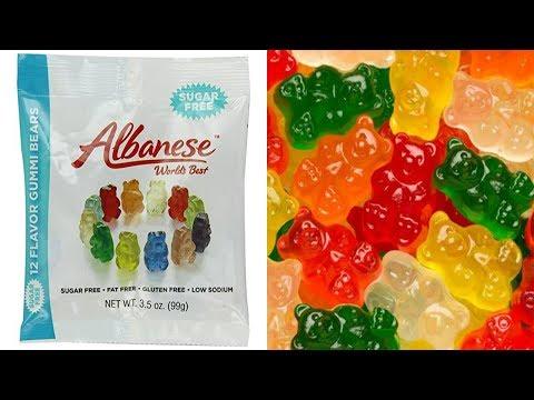 Hilarious Albanese Sugar Free Gummi Bears Review
