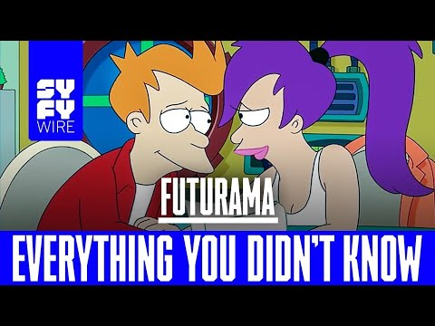 Futurama Was Born In 1939 (Everything You Didnt Know) | SYFY WIRE