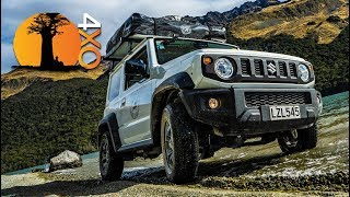 SUZUKI JIMNY REVIEW. Any good overland? Filmed in New Zealand