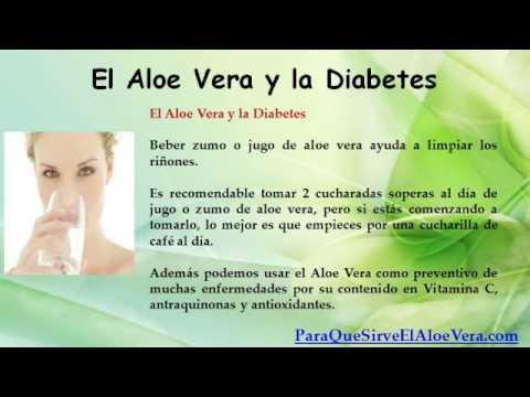 como consumir el aloe vera para la diabetes