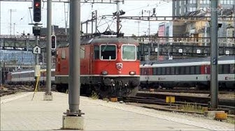 Eisenbahnen / Züge / Trains in Basel