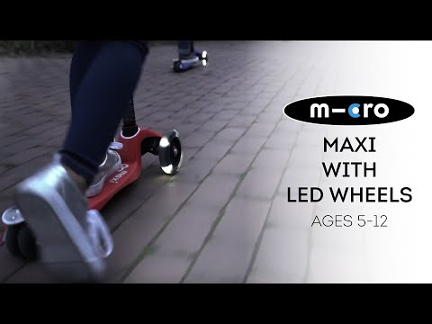 BEST New Scooters for Kids   Micro Maxi Deluxe with LED Wheels