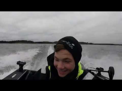 Ed & Johan ,  October 2015 @Sportfishing Dalsland