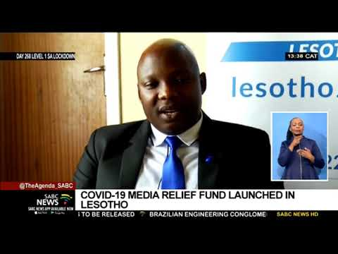 COVID-19 Media Relief fund launched in Lesotho
