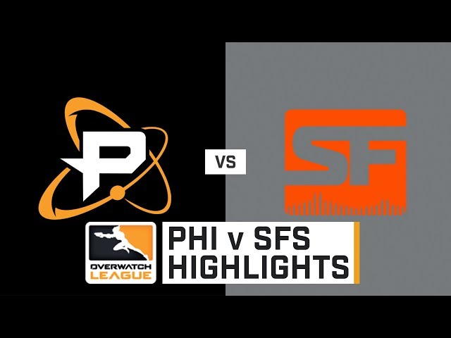 HIGHLIGHTS Philadelphia Fusion vs. San Francisco Shock | Stage 2 | Week 5 | Day 1 | Overwatch League
