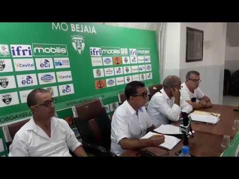 MOBejaia: Point de presse de Arab Benai
