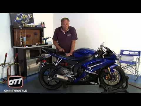 Motorcycle Suspension - Setting Sag