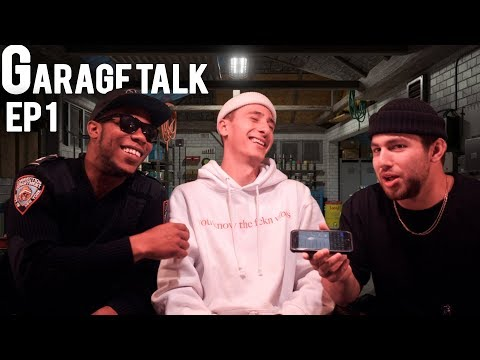 GARAGE TALK EP 1: RUSTY GETS PHYSICAL WITH GAY DUDE