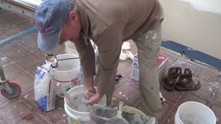 Touch Up with Hot Mud as it Sets | A Easy Sand Patching Series Pt. 4