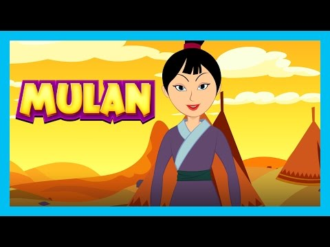 Mulan - Full Story For Kids || Disney Princess - A Cool School Storybook