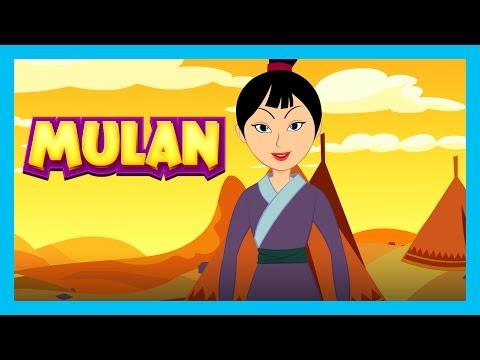 Mulan - Full Story For Kids || Disney Princess - A Cool School Storybook