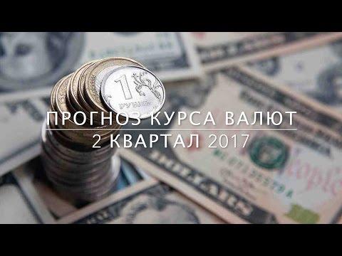 Прогноз курса валют 2 квартал 2017
