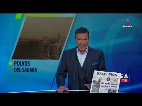 Polvo del Sahara llega a territorio mexicano | Noticias con Francisco Zea
