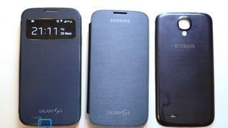 Аксессуары для Samsung Galaxy S4: бамперы, кейсы, чехлы, док-станция, Flip и S View Cover(Фото и ссылки - http://mobiltelefon.ru/post_1374763233.html Цена дня на Samsung Galaxy S4 - http://bit.ly/1DYAkJy TinyDeal - http://bit.ly/18EVr5r ..., 2013-07-25T14:49:06.000Z)