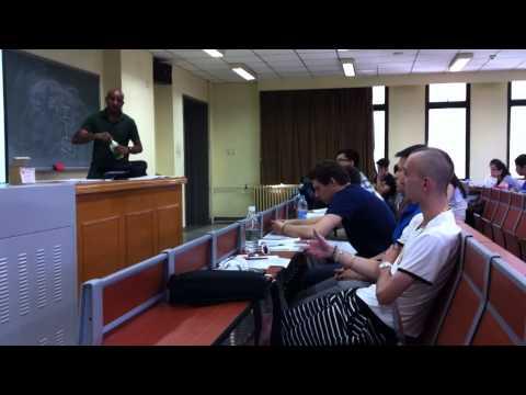 Beijing Foreign Studies University BFSU : Int'l Student Class of Marketing - 2014