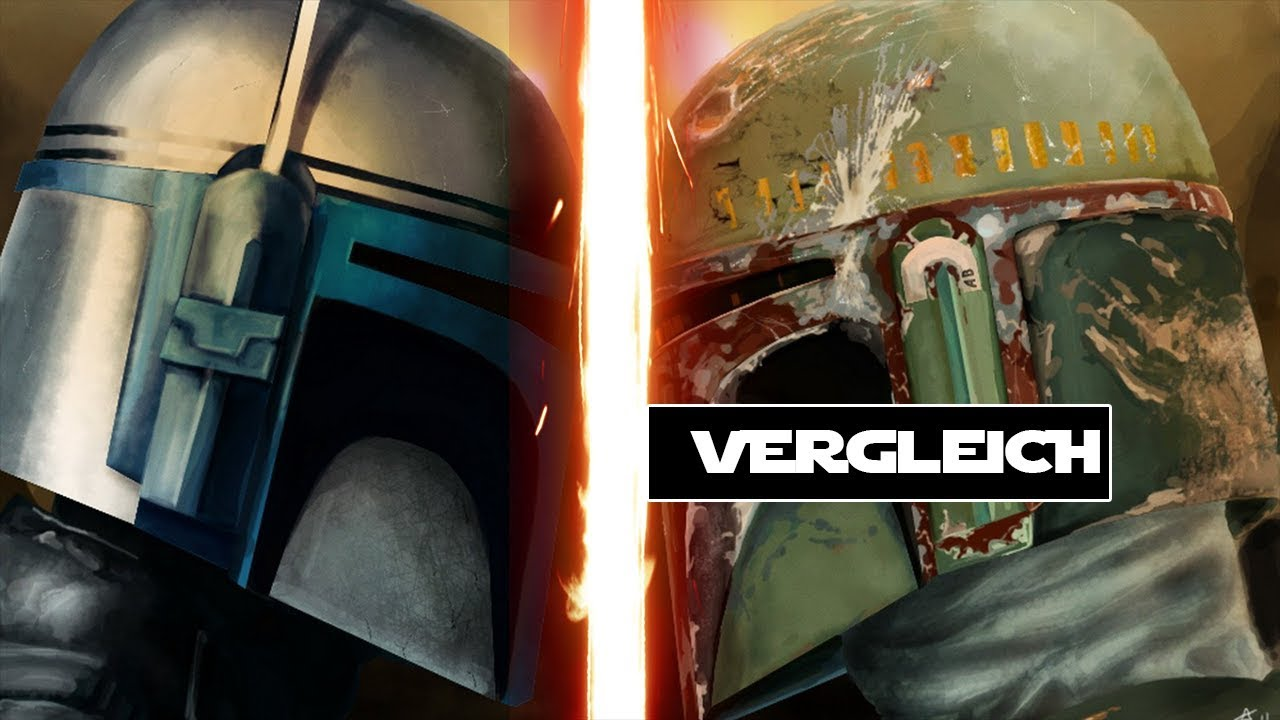 Jango Fett VS Boba Fett - YouTube