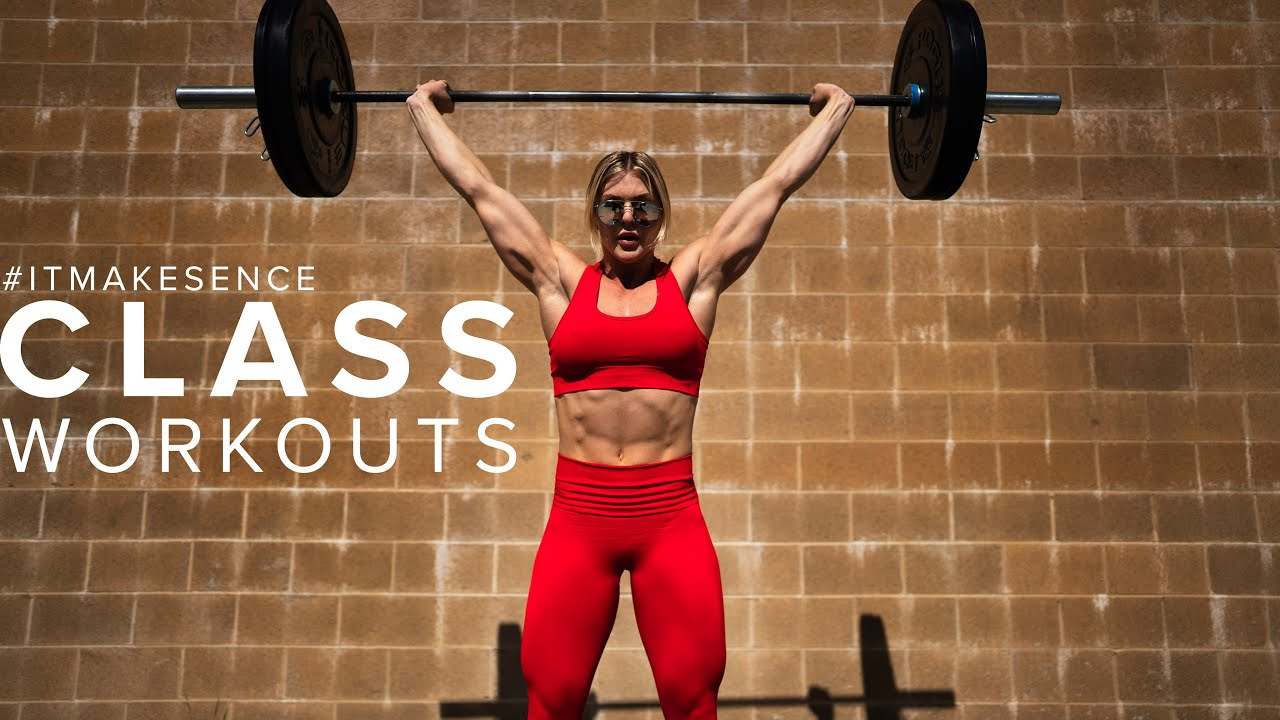 BROOKE ENCE VLOGS | My Mom Crushes A Class Workout With Me