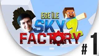 Sky Factory 2 - Bölüm 1 - Topraklarım Gitti