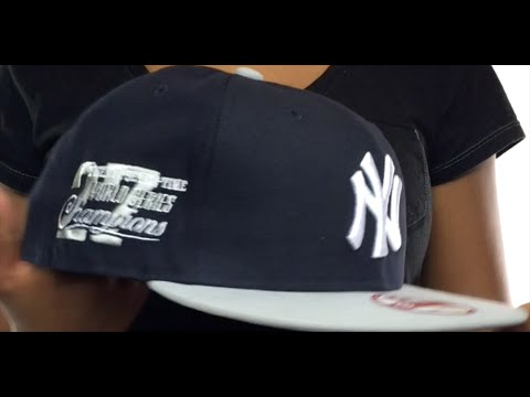 6bcfc90b3 Yankees 'MLB STAR-TRIM SNAPBACK' Navy-Grey Hat by New Era