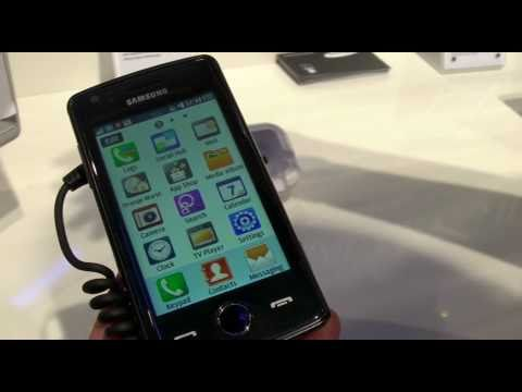 Samsung Wave 578 (Bada), prise en main au MWC 2011 - Test-Mobile.fr