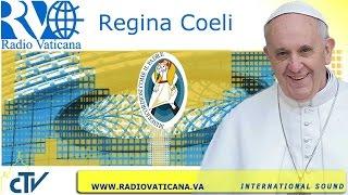Regina Coeli 2016.03.28