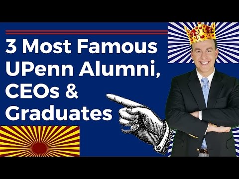 University of Pennsylvania Alumni:Most Famous and Notable Graduates- AngelKings.com