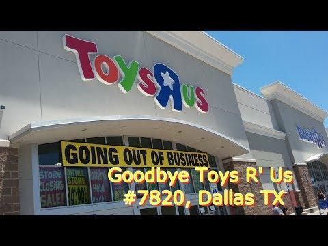 Remembering Toys R' Us, Dallas ( A Personal Retrospective)
