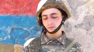 Վիդեոնամակ Զինվորից. Շարքային Մկրտիչ Բազեյան