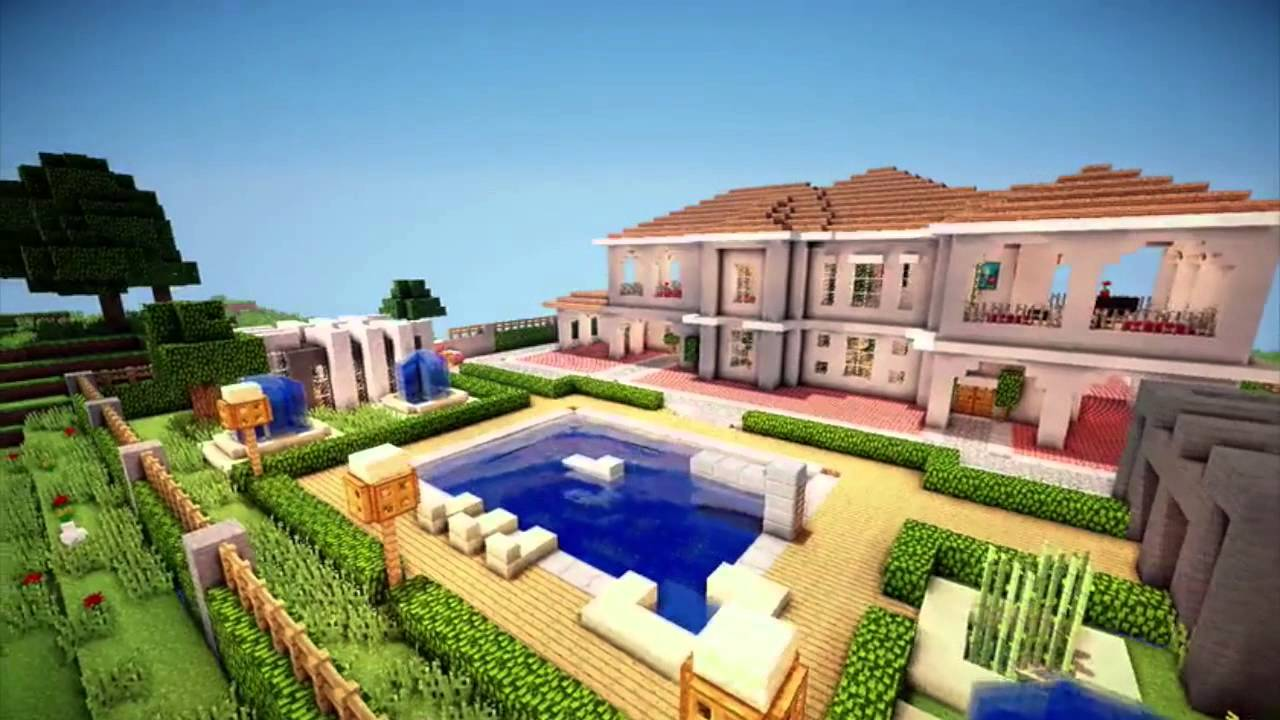 minecraft cinematic spanish style home youtube