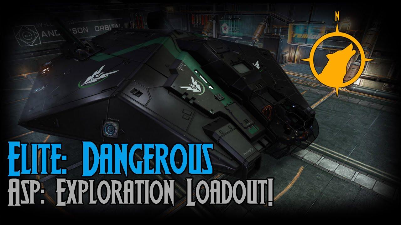 Elite: Dangerous - Asp: Exploration Loadout