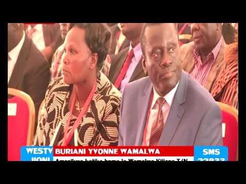Mazishi ya Yvonee Wamalwa Trans Nzoia