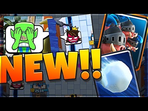 NEW EMOTES!?! NEW CARDS!! CLASH ROYALE UPDATE