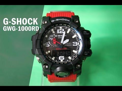 BACKLIGHT IN FULL DARKNESS!!! CASIO G-SHOCK GWG-1000-1AER .