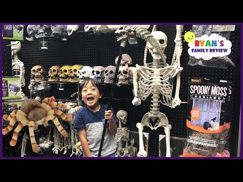 Thumbnail: Shopping for Halloween Costumes Family Fun kids playtime and toy hunt