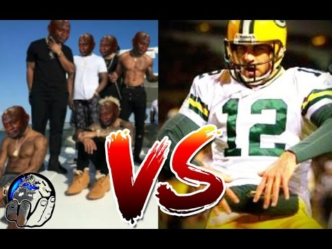 AARON RODGERS DISCOUNT DOUBLE F*CKS THE GIANTS IN NFL WILDCARD 2017 PLAYOFFS!