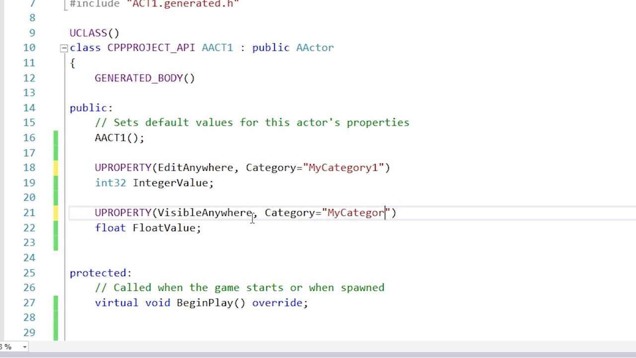 UE4 C++ & Blueprints tutorial PART 1: Project Setup and Variables