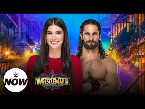 Live WrestleMania interview with Seth Rollins: WWE Now