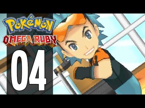 Pokemon Omega Ruby - Part 4 - Gym Leader Brawly (Gameplay Walkthrough)